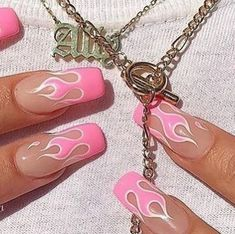 41 Trendy Ideas For Nails Fake Matte Acrylics Summer Acrylic Nails, Best Acrylic Nails, Acrylic Nail Designs, Nail Swag, Aycrlic Nails, Hair And Nails, Coffin Nails, Pink Coffin, Fantastic Nails