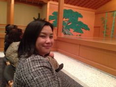 Noh and Sherry Party by Mr. Kohya Nakase
