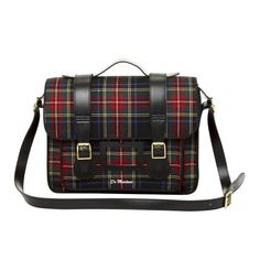 Plaid accessories make you look current without going overboard.