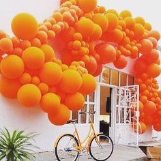 """THINK ORANGE, """"Orange is the happiest color"""", (Frank Sinatra), pinned by Ton van der Veer"""