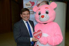 Andrew Bridgen MP with Heartly!