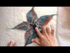 FELTING & ВАЛЯНИЕ. Валяние цветка - YouTube