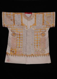 The enchanted shirts in the  garment collection at Topkapı Palace are among the most significant cultural heritage to reach present day.   These shirts are unique works of art embellished with hadiths and verses of the Kuran, making use of the arts of calligraphy and ornamentation. They were worn by OttomanSultans on their way to war for victory, for recovery from diseases and for protection against the evil eye.