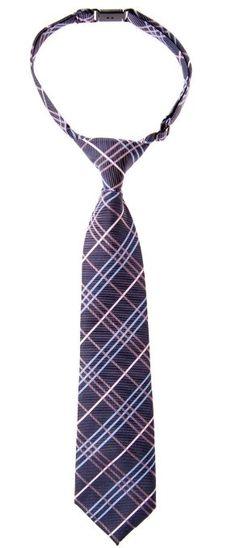 Retreez Small Paisley Pattern Woven Microfiber Pre-tied Boys Tie