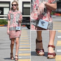 Every fashionista needs a pair of tan wedges in their closet, that being said, these Isabel Marant are topping our wish list this season.  You will love how easily they will pair with all your favorite summer frocks. Try them on now!  #KateBosworth #IsabelMarant