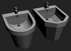 making-of-house-n-bathroom-04-poly-modeling01 - 3D Architectural Visualization & Rendering Blog