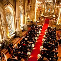 Decoração de casamento -Cerimônia São Francisco de Paula