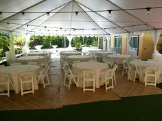 Dinner Reception on Pickle Ball Court at Hale Koa Estate- Lauhala mats from property