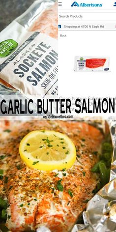 Dinner Recipes Easy Quick, Easy Chicken Recipes, Seafood Recipes, Easy Dinners, Easy Recipes, Sockeye Salmon Recipes, Grilled Salmon Recipes, Healthy Meals For Two, Healthy Eating Recipes