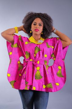 Pair with jeans, black pants/leggings or a pencil skirt. African Tops For Women, African Dresses For Kids, African Maxi Dresses, Latest African Fashion Dresses, African Print Fashion, African Attire, Ankara Fashion, Quilts Vintage, African Blouses