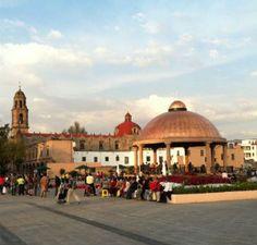 kioscos de mexico | Tlalnepantla En El edo. de Mexico tiene kiosko de 3 millones de pesos construido de cobre.