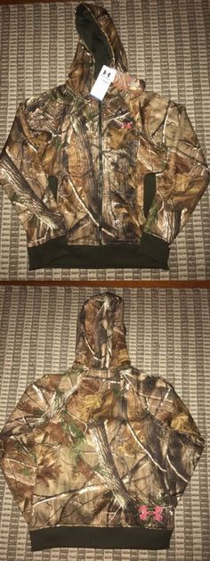 Hoodies and Sweatshirts 177871: Womens Under Armour Camo Realtree Hunting Hoodie Xxl Jacket Zip Up -> BUY IT NOW ONLY: $60 on eBay!