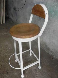 Krzesło, taboret barowy, hoker, LOFT, Industrail