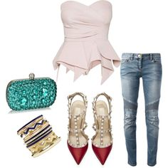 Let's go out, created by char2709 on Polyvore