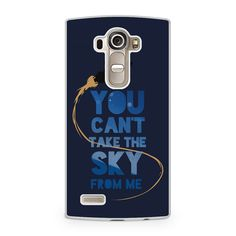 Firefly Serenity Quote LG G4 Case