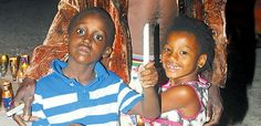 RulaBrownNetwork (RBN): IN JAMAICA: Children, Jaheen and Aaliyah Harris, a...