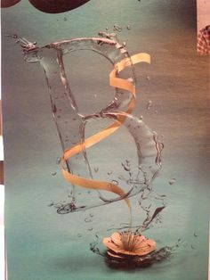 water type; breathtaking Water Type, Letters And Numbers, Typography, Painting, Art, Letterpress, Art Background, Letterpress Printing, Painting Art