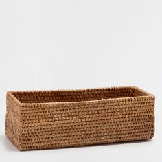 CESTA RECTANGULAR COLOR NATURAL - Platos y Cestas de Pan - Mesa | Zara Home España