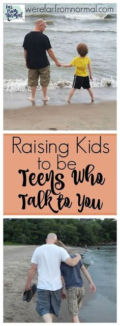 The teen years don't have to be hard! Start when your kids are young to set the foundation and raise awesome teens who talk to you!