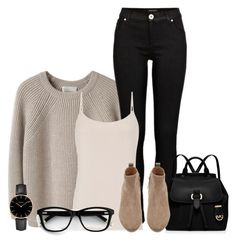 Casual Monday by dahleia on Polyvore featuring polyvore, mode, style, La Garçonne Moderne, Reiss, River Island, Witchery, MICHAEL Michael Kors, CLUSE, fashion and clothing