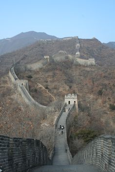Great Wall - Beijing China - One of my greatest wishes is to go back there again and walk on the wall.