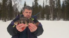 На одну блесну две рыбы / One bait for two fish at the same time