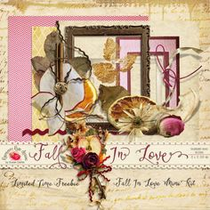 Fall In Love Mini Kit - It's Free! : Raspberry Road Designs