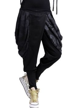 Youth Fashion Training Sweatpants Boom Print Adjustable Waist Running Pants with Pocket