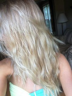 My new ash blonde color!
