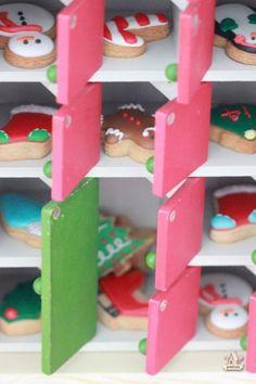 Mini Cookies in Advent Calendar! |  Sweetopia