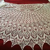 Tips:  nupps: I'm using a 5 stitch nupp as suggested for normal lace weight on the pattern page. I used this tutorial to get the hang of them.  I did the version with the most nupps. And I ev...