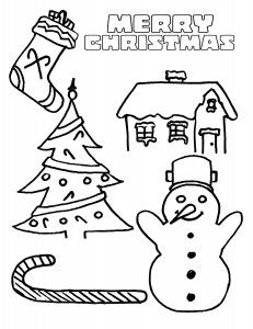 Thomas The Train Christmas Coloring Sheets  Thomas The Train
