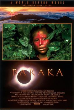 Baraka (1992)...the contrast between cultures hit you square in the head.  No words here...just pictures.