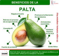 BENEFICIOS DE LA PALTA