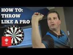 How to throw like a pro: darts tips Play Darts, Darts Game, Throwing Games, American Video, Like A Pro, Being Good, Space Time, Improve Yourself, Steampunk Necklace