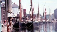 Pin Mill Barge Match 1970s