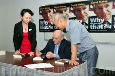 因为参与调查在中国发生的强摘活人器官事件而获得2010年诺贝尔和平奖提名的著名人权律师麦塔斯(David Matas)通过写自传来讲述其心路历程。 - 北美新闻