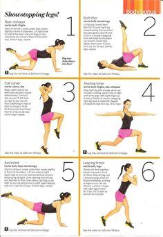 exercise routine.