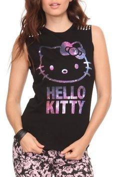 Amazon.com: Hello Kitty Galaxy Girls Tank Top: Clothing