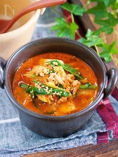 煮るだけ5分♪『豆腐とキムチのコクうま味噌スープ』 by Yuu | レシピサイト「Nadia | ナディア」プロの料理を無料で検索
