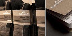 Is it weird that I like this sock packaging?     Kathmandu - The Dieline -