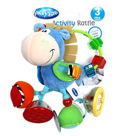 Playgro 0101145107 Toy Box Clip Clop Activity Rattle