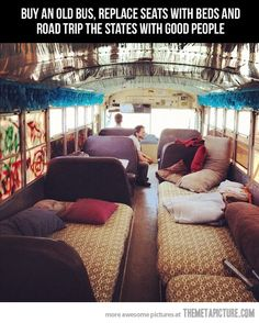 I'd love to save up and do this for a summer.