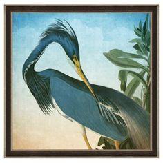 Check out this item at One Kings Lane! Audubon Heron Print