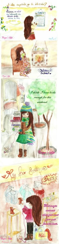 To be continue... _____________________ COQUI'S LIFE -Collection (Moramontti's Illustrations)  Follow the life of Coqui on this board: http://www.pinterest.com/moramontti/coquis-life-collection/