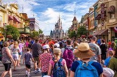 Main Street USA at @Walt Disney World's Magic Kingdom