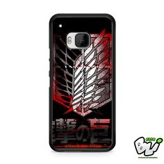 Attack On Titan Military Blood HTC One M9 Case