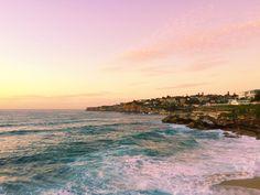 Tamarama Beach, Sydney, Australia at sunrise