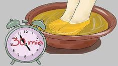 Image titled Use Apple Cider Vinegar for Athlete's Foot Step 5 Health Remedies, Home Remedies, Natural Remedies, Diabetes Remedies, Vicks Vaporub, Athletes Foot Cure, Acide Aminé, Diabetic Snacks, Natural Energy