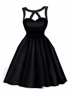 Rockabilly dress design by blueberryhillfashions.com